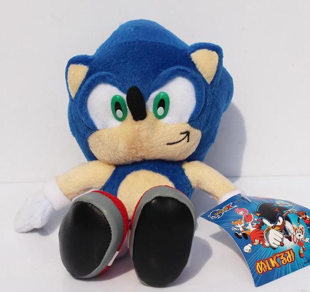 XIAOSHUIQUAN Hot Jeu Sonic The Hedgehog Sonic G/én/éral Chaussettes Mi-Haut R/échauffez Brochage Motif Antiskid Invisible Chaussettes Casual