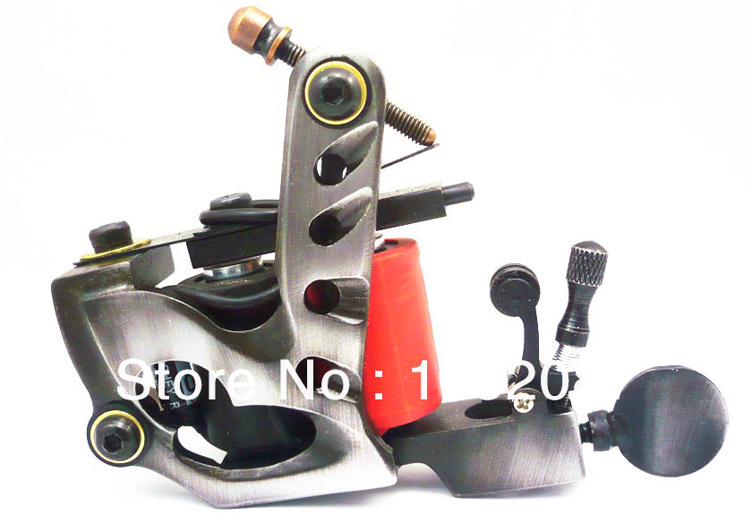 NEW Professional Cutting Wire Iron Tattoo Machine Gun for Liner or Shader Dual 10-Wrap Coils Supply Free Shipping professional welding wire feeder 24v wire feed assembly 0 8 1 0mm 03 04 detault wire feeder mig mag welding machine ssj 18