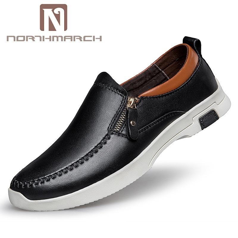 NORTHMARCH Men Driving Shoes Genuine Leather Casual Italian Classic Loafers Luxury Brand Designer Flat Shoes Men Sepatu Pria cangma superstar italian luxury brand shoes for woman genuine leather women casual orange silver classic shoes schoenen vrouwen