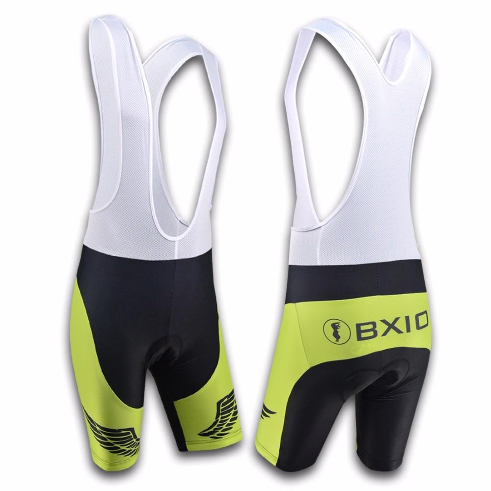 BXIO Marke Radfahren Trägerhose Fahrradbekleidung Pro Team Bike - Radfahren