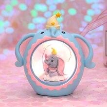 Мультяшный СВЕТОДИОДНЫЙ Ночник светильник со слоном для маленьких
