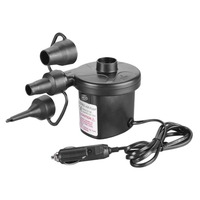 12V Car Auto 3 Nozzles Inflatable Boat Air Suction Pump Gas Fill Air Compressor Electric Air