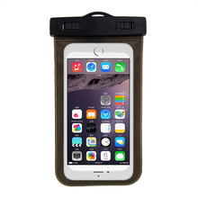 New mobile phone waterproof bag drifting touch screen transparent beach diving sets
