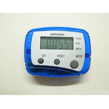 Hot sell Pedometer Calorie Step counter watch Mini distance walked multifunction time function Digital Pedometers