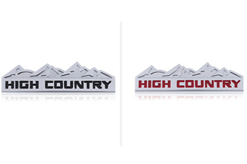 new 3D Car styling Snow Mountain Trail Rated Bar Badge Chrome Metal Car Styling Refitting Logo for JEEP Wrangler Grand Cherokee stanley mountain vacuum trail mug 0 35л steel
