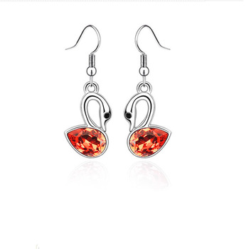 Classical Ambiguous Swans Earrings 2
