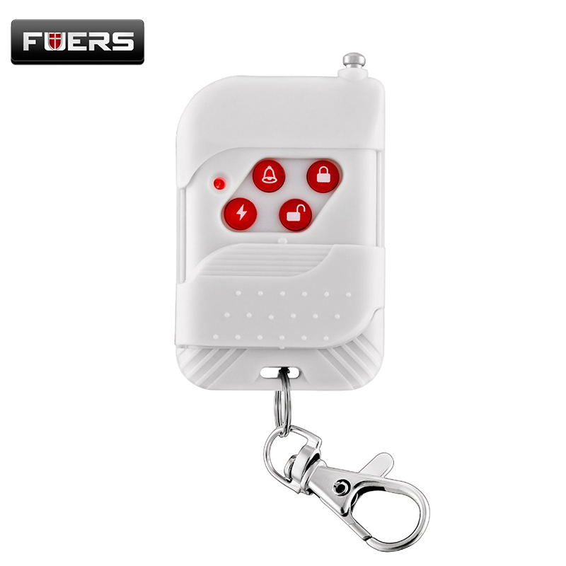 Fuers Wireless Keychain Remote Control Key Telecontrol For PSTN/GSM Home Burglar Security Burglar Alarm System