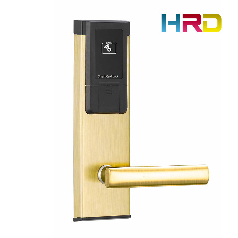 Hotel Key Card Lock Management System Free Software Rfid Contactless Rf Card T57 125khz Type 13.56Mhz M1 Type Optional Locker
