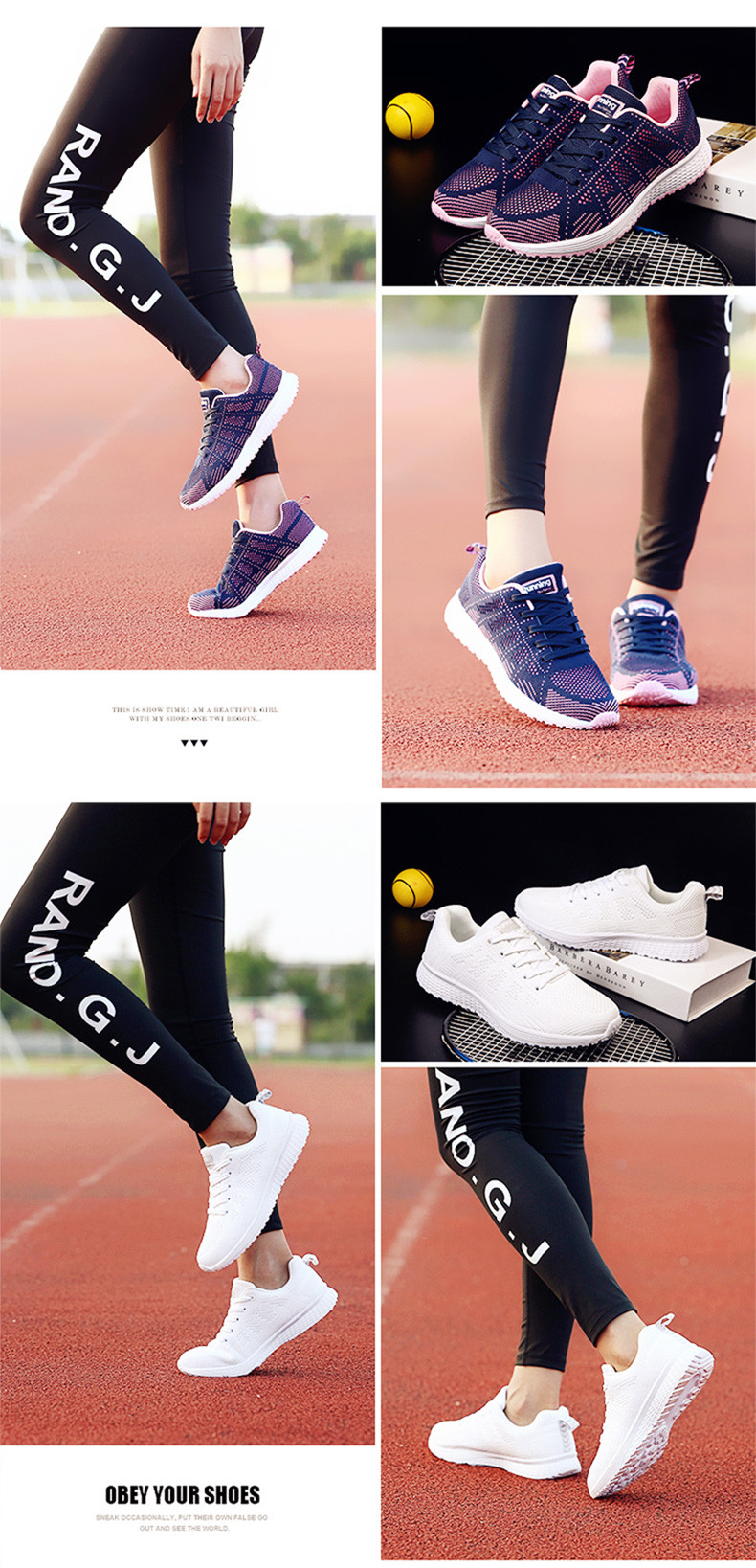 Air Cushion Original Breathable Sneakers Women Summer Springs Athletic Outdoor Sports Entertainment Shoes Women Running Shoes 7