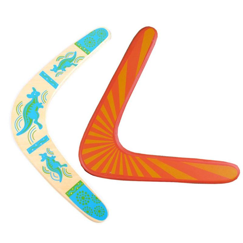 Throwback V Shaped Boomerang Kangaroo Flying Disc Throw Catch Outdoor Games