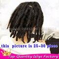 Синтетические dreads Сексуальная Ямайский Человек Крючком искусственного locs Африканских Мужчин Dreadlock Боится Волос для Черных Мужчин Дреды волосы freetress