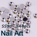 Big Size SS50 144pcs Crystal Nail Art Rhinestones With Shiny For DIY Nails Art Wedding Decoration And Shoes