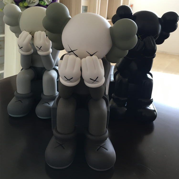цены 28cm Original fake Kaws Companion Passing Thought with original box