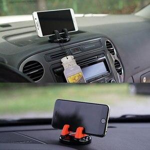 Image 5 - Автомобильный держатель для телефона на 360 градусов, держатель для приборной панели, мобильный телефон, подставка для менее 6 дюймов, подставка для телефона