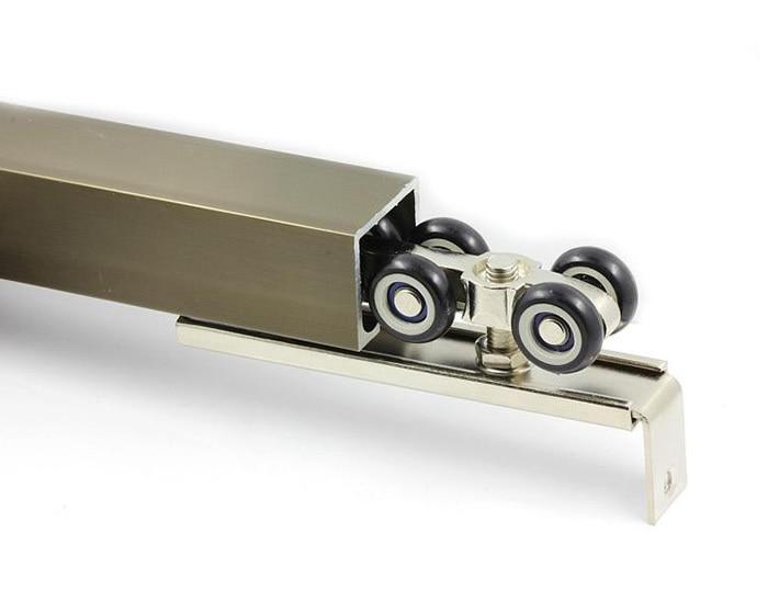 8 wheels pulley hardware Slide Doors pulley Sliding doors hanging