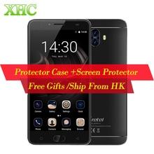 """LTE 4G Gretel GT6000 6000 mAh D'empreintes Digitales 5.5 """"Android 7.0 Smartphone MTK6737 Quad Core 2 GB 16 GB double Retour Caméras Mobile Téléphone"""