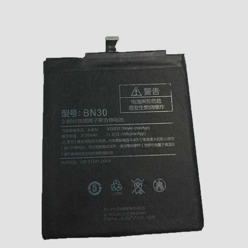 3120mAh Battery For Xiaomi Redmi 4A/Hongmi 4A BN30 Batteries + Track Code