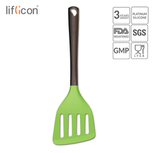 liflicon Silicone Slotted Turners Spatula  pot shovel cooking spatula fried flexible silicone frying pan turner