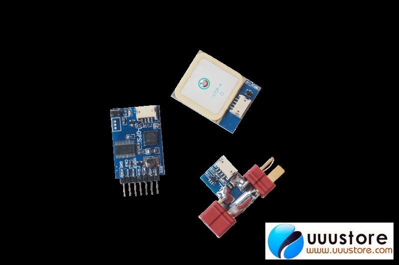 Skylark Tiny smallest OSD III 23G W/10HZ GPS & USB Cable For FPV System все цены