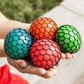 Nuevo 2017 Bola De Uva 5 cm Anti-Estrés Relevista de Humor Squeeze Descompresión Juguetes De Los Inocentes de Halloween HT3799