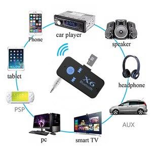 Image 5 - 블루투스 어댑터 3 1 무선 4.0 usb 블루투스 수신기 3.5mm aux 오디오 잭 스테레오 tf 카드 리더 마이크 통화 자동차 스피커