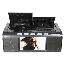 Panda CD-5000 Кассетный рекордер CD проигрыватель машина Английский Обучение DVD хлеб повторитель радио