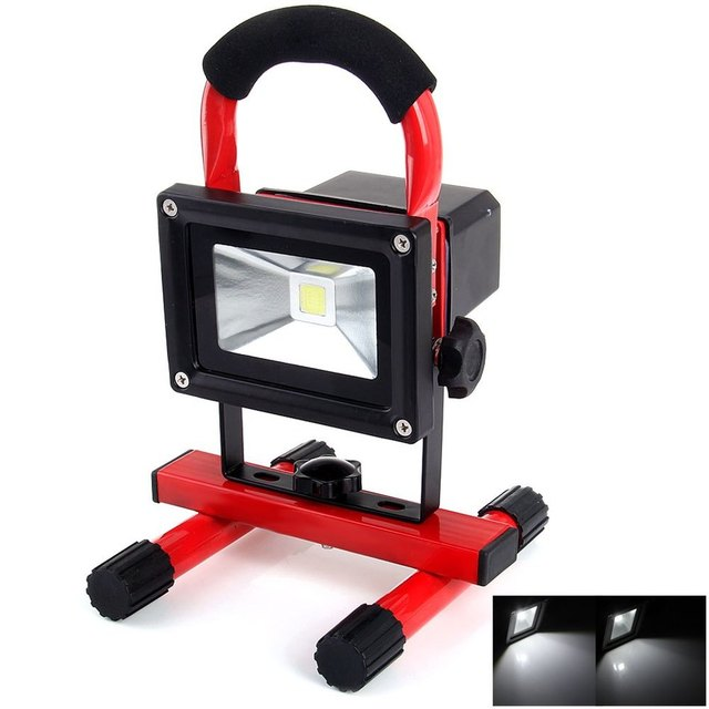 New arrival quality floodlights 10w rechargeable led worklight new arrival quality floodlights 10w rechargeable led worklight outdoor light 240v cold white camping work light workwithnaturefo