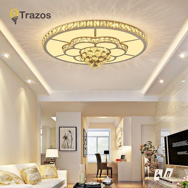 crystal led Chandelier For Living Room Bedroom kitchern Home chandelier Modern Led Ceiling Chandelier Lamp Lighting chandelier
