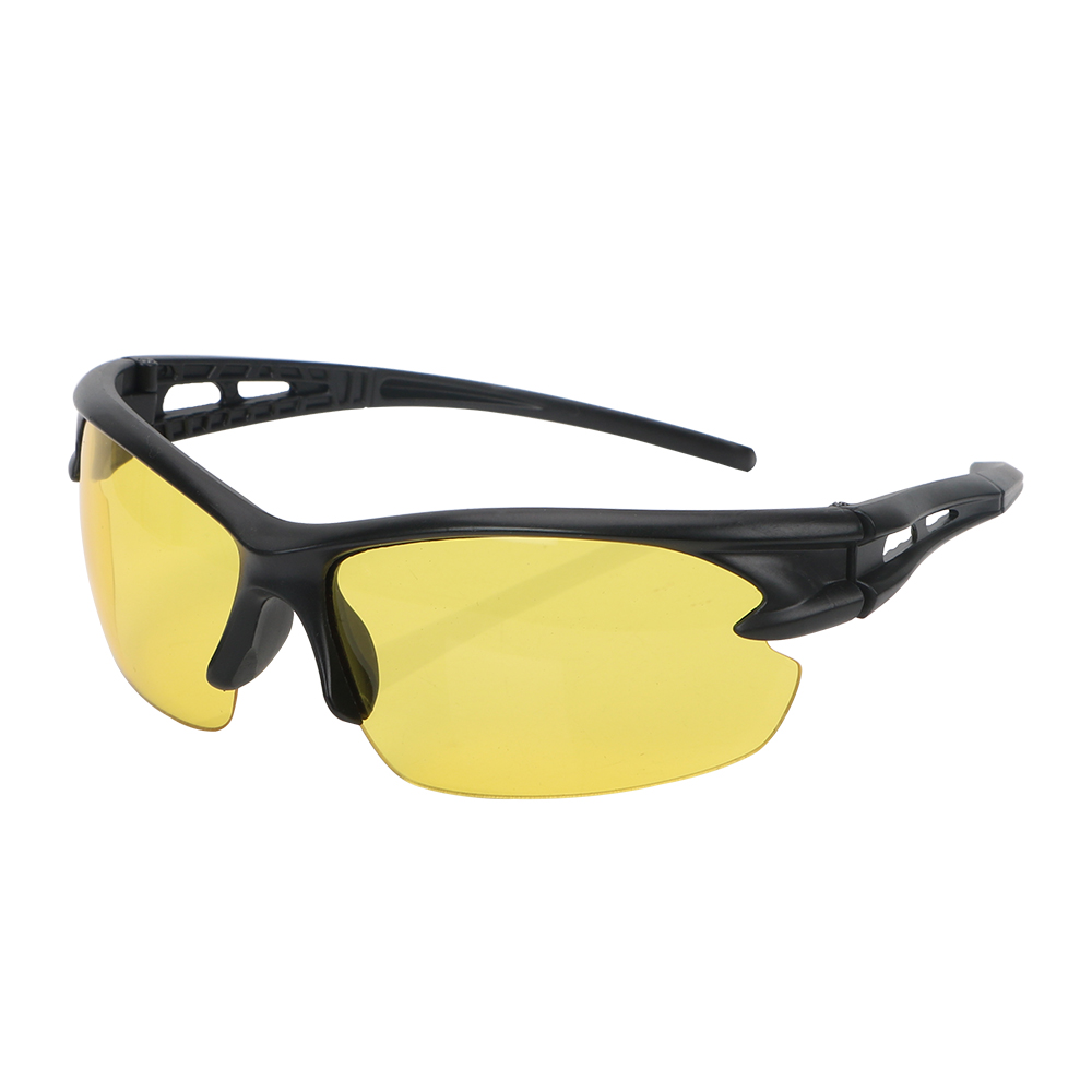 Night Vision Glasses Insect Proof Explosion-proof Sunglasses For Outdoor Riding Windproof Plain Glass Spectacles
