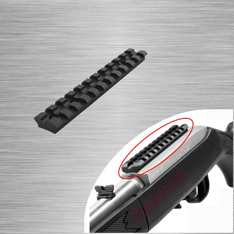 New Tactical Low Profile Rail Mount 11 Slots For Ruger 10/22 Multi-Slot Base System Precision CNC Machined Free Shipping