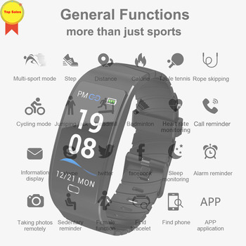 Smart Bracelet GPS Fitness Activity Tracker IP68 Waterproof dynamic heart rate alarm monitor Watch Sleep Monitor Smart Wristband