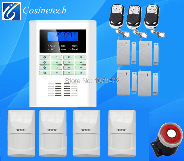 Cheap good quality GSM PSTN security ALARM system Wireless wired home safe Alarm System with pet immune friendly PIR sensor diysecur wireless and wired gsm automatic dialing alarm system m2bx pet friendly home security