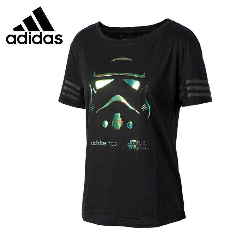 Original New Arrival 2017 Adidas NEO Label S W TEE 1 Women's T-shirts short sleeve Sportswear original new arrival 2017 adidas neo label m sw tee men s t shirts short sleeve sportswear