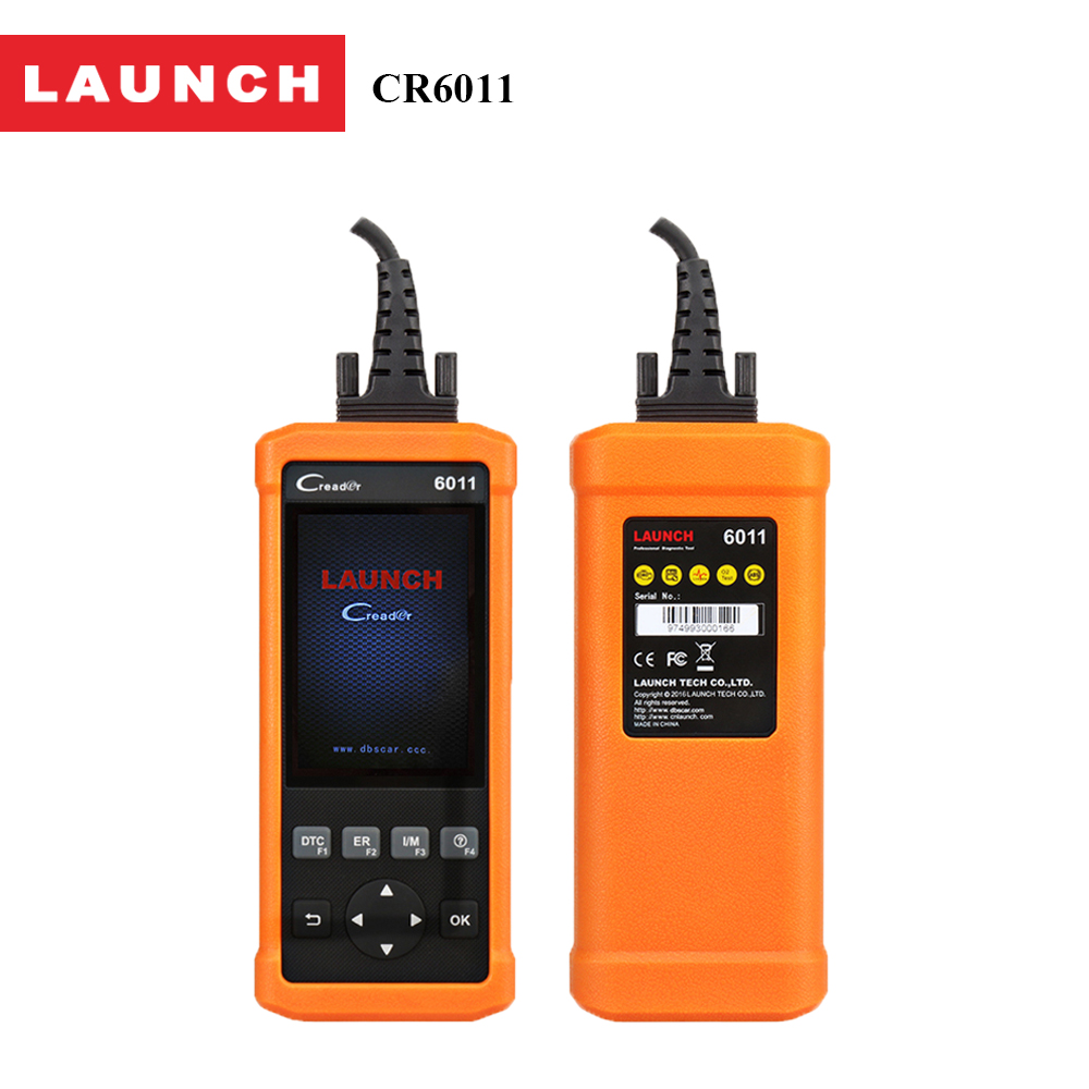 Smart OBD2 OBDII car/auto Diagnostic Scan Tool Launch CReader 6011 Support ABS,SRS Systems OBD 2 scanner diagnostic-tool