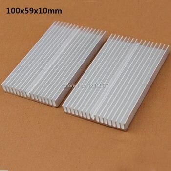 20 pieces lot Heat sink IC Heat sink Aluminum Cooling Fin 100X59X10MM