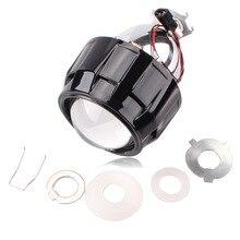 "Neue Upgrade Full Metall 2,5 ""Mini Bi-Xenon Projektor Führer Kit HID Bi-Xenon Projektorscheinwerfer Objektiv Schwarz Farbe H1 H4 H7 LAMPENART"