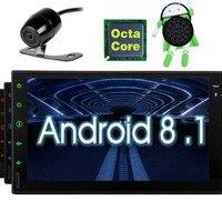 В тире Авто gps навигации аудио 7 дюймов 1024 600 Сенсорный экран 8 планшет радио Поддержка Wi Fi, Bluetooth 1080 P видео SWC видео