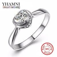 90%オフ!!! yhamni保証100% 925スターリングシルバー婚約指輪高級2ct模擬マントの結婚指輪YH382
