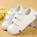 Crianças shoes crianças meninas lona shoes do bebê 2017 primavera outono tênis branco-algodão feito bebê único meninos shoes crianças shoes