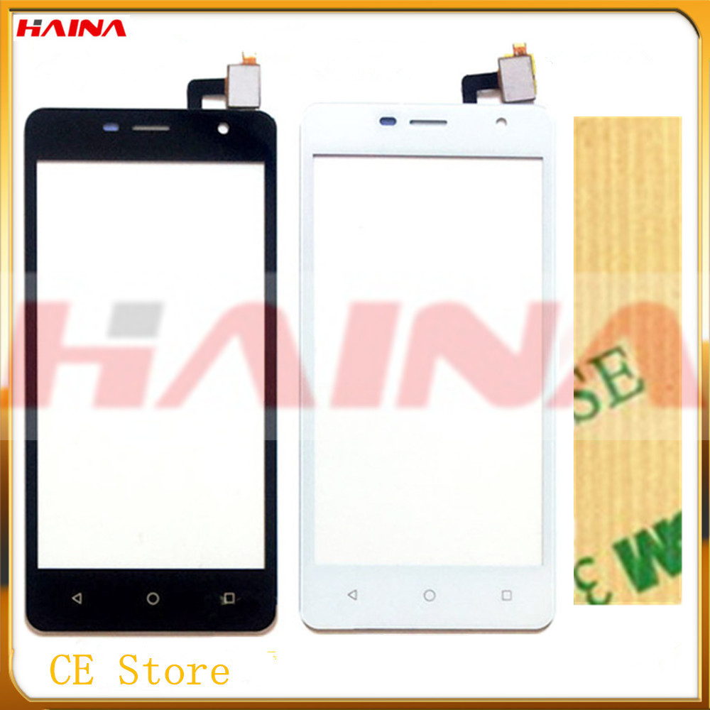 mobile Phone Touch Screen Front Glass Touch Panel Sensor For Micromax Q351 touch screen digitizer Replacement +tape