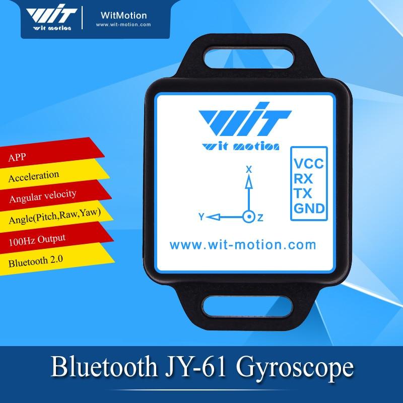 imágenes para Ángulo de salida del módulo MPU6050 $ number ejes Giroscopio Acelerómetro Bluetooth JY61 puerto Serie APP BWT61CL