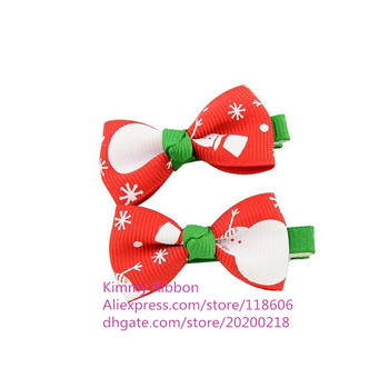 300pcs Small  Christmas Snowman Hair accessories perfect for christmas holiday shower gift ideas