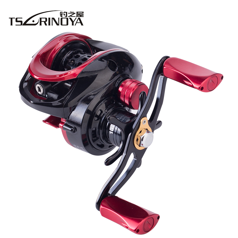 TSURINOYA XF-50 XF-150 Baitcasting Reel Left Right Handle Ultra Light Bait Casting Fishing Reel Low Profile Carrete De Pesca бальзам для волос gliss kur gliss kur gl011lwjol92