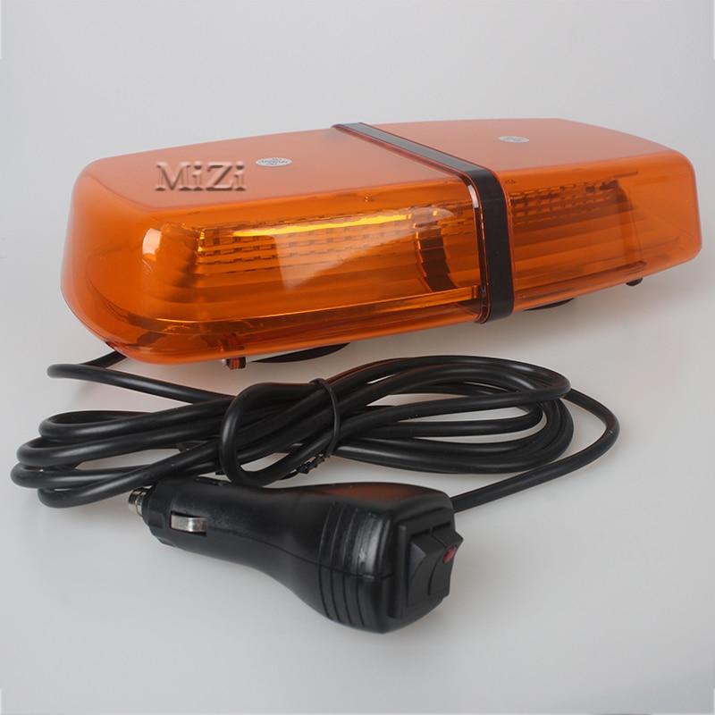 12V Car Roof Strobe Beacon Warning Light LED Fog Light Bar Emergency Light Ambulance Lightbar Truck With Magnetic Super Bright