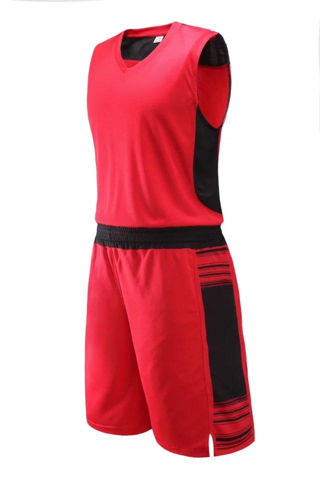 baf3267f2859 kids blank basketball jerseys boys plain sleeveless basketball sets youth  running uniforms sports training suits free shipping
