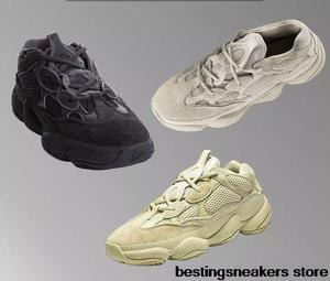 fdff0a114 Wave Runner US5-12 Running Shoes Sneakers 2018 Desert Rat yeezys air 500  Super Moon