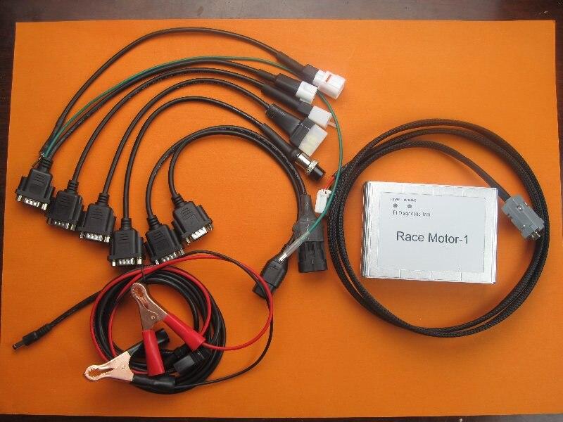 New 6in1 universal moto motorrad scanner für YAMAHA, SYM KYMCO, für SUZUKI, HTF, PGO motor diagnose hochwertigen