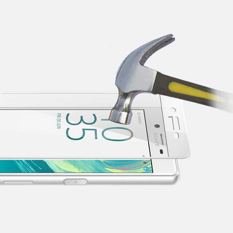 Pieno Della Copertura Della Protezione Dello Schermo di Vetro Temperato Per Sony Xperia XA1 XA2 Ultra XA X XP XZS XZ X UN P XZ2 XZ1 Compatto XZ Premium Pellicola