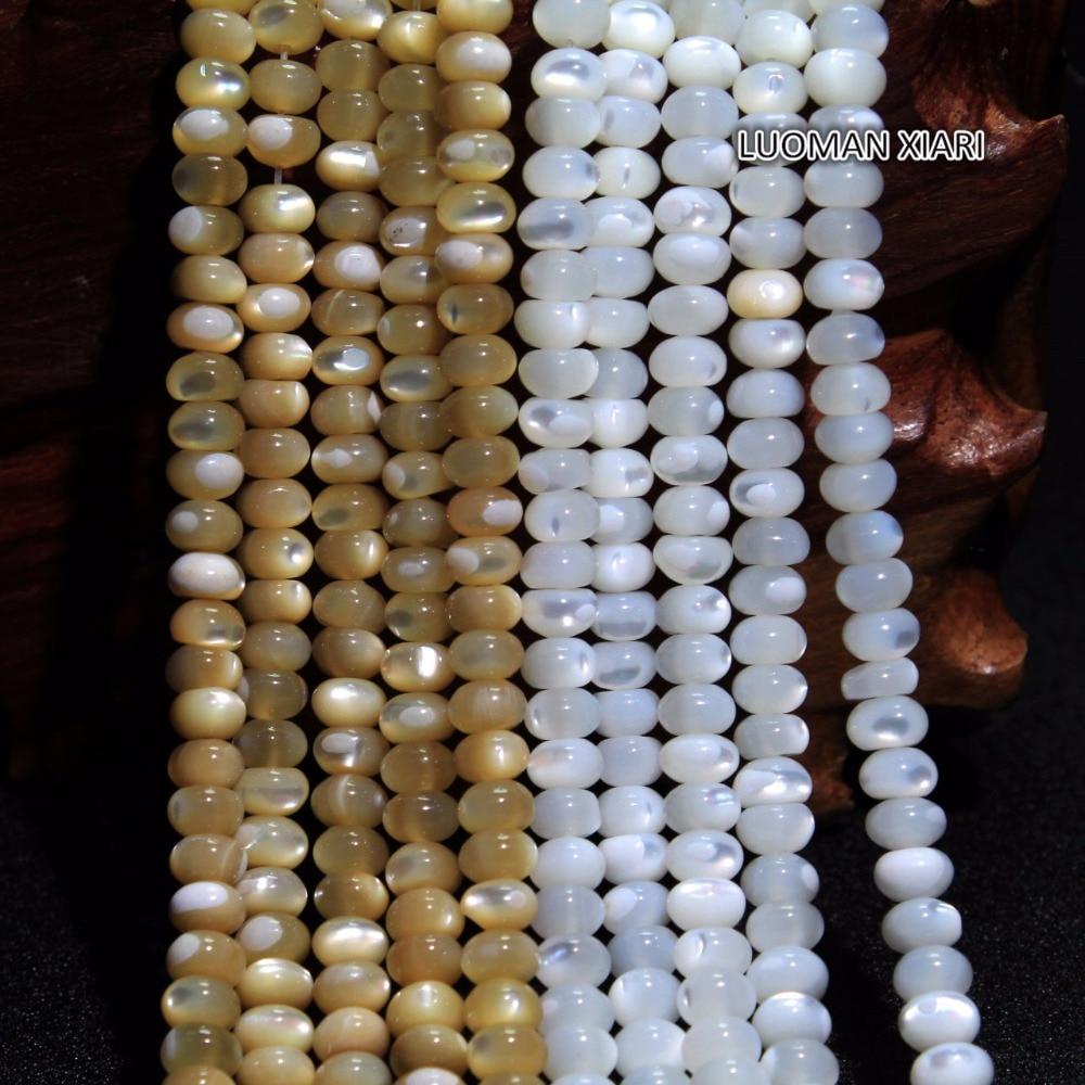 Original Beads: Wholesale Natural Trochus Shell Wheel Shape Stone Beads