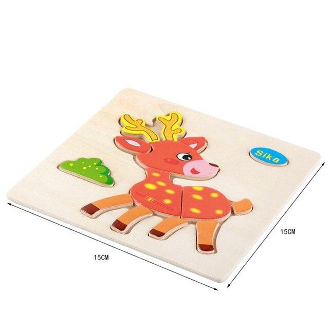 Tangram rompecabezas de animales de dibujos animados y patrón del ...